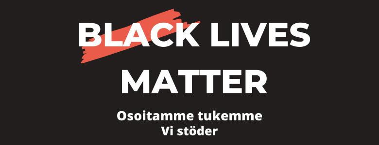 Black lives matter-teksti